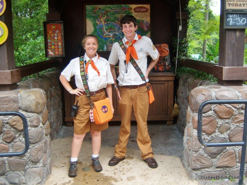 Wilderness Explorers cast member costumes animal kingdom walt disney world  sc 1 st  DisneyTips.com & 5. Wilderness Explorers cast member costumes animal kingdom walt ...