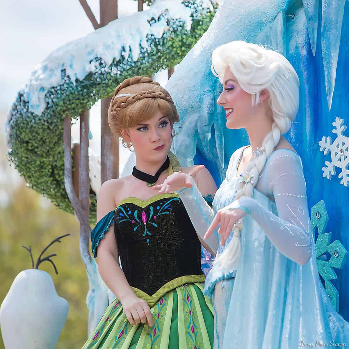 6 Tips For Seeing Anna And Elsa At Walt Disney World