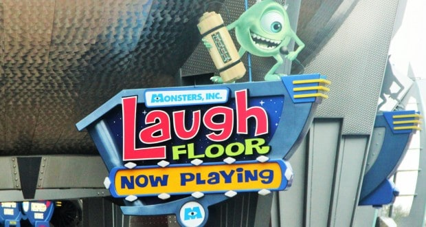 Monsters, Inc. Laugh Floor At Walt