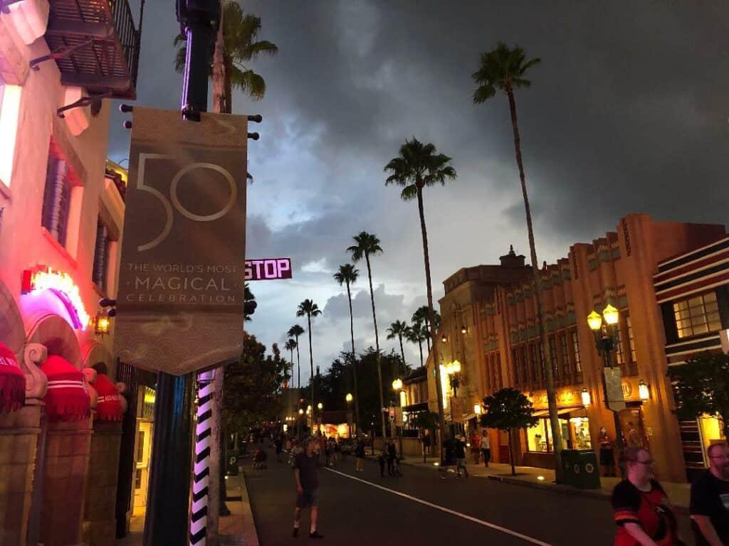 hollywood studios 50th