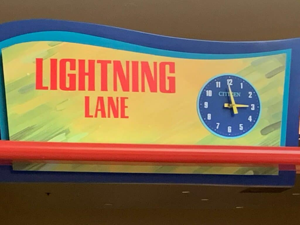 living with the land epcot lighting lane